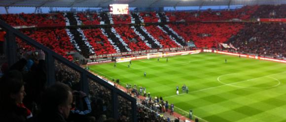 Bild Leverkusen gegen FC Bayern